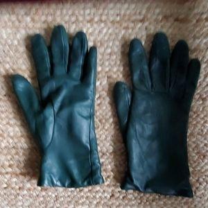 Bloomingdales Leather Gloves